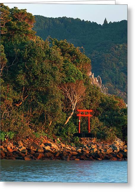 Japan, Wakagama Prefecture Greeting Card by Jaynes Gallery