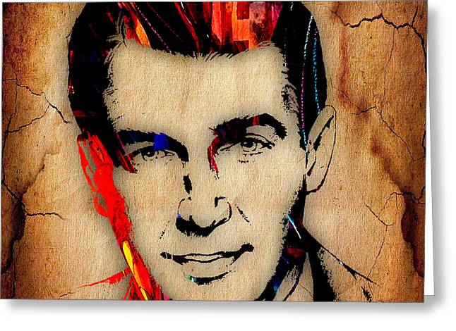 Jimmy Stewart Collection Greeting Card by Marvin Blaine