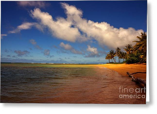 Kaua Beach Greeting Card