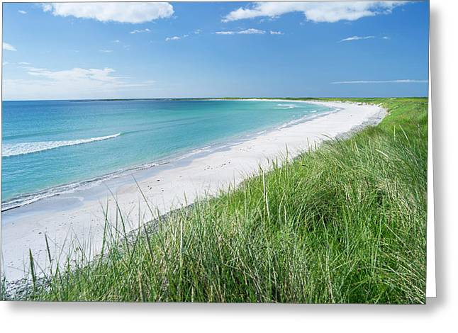 Landscape On The Island Of South Uist Greeting Card