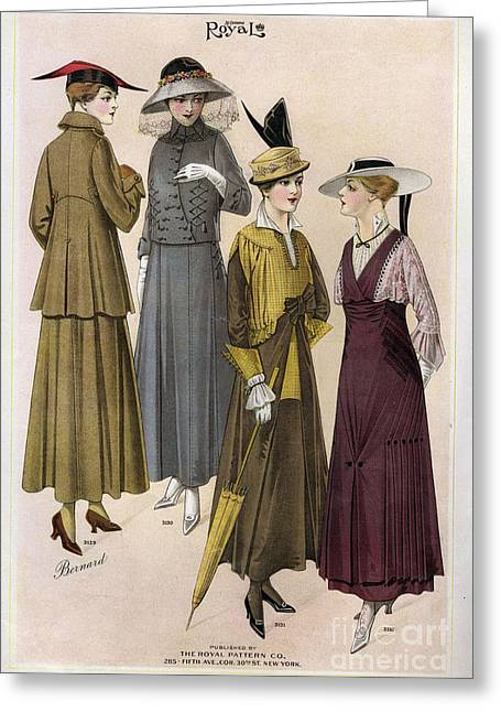 Le Costume Royal 1915 1910s Usa  Cc Greeting Card by The Advertising Archives