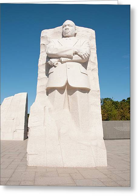 Martin Luther King Jr Memorial Greeting Card by Lee Foster