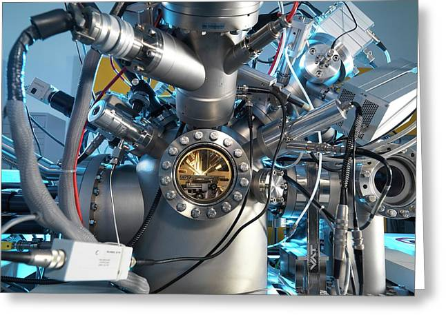 Mass Spectrometer Greeting Card by Andrew Brookes, National Physical Laboratory