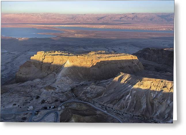 Massada, Dead Sea Greeting Card