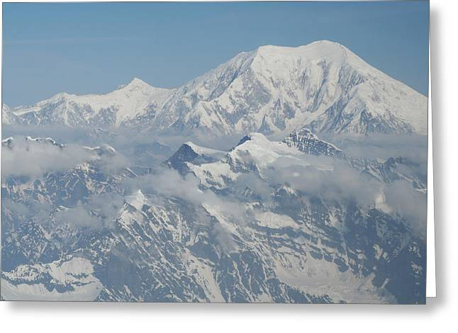 Mt Mckinley Greeting Card by Dick Willis