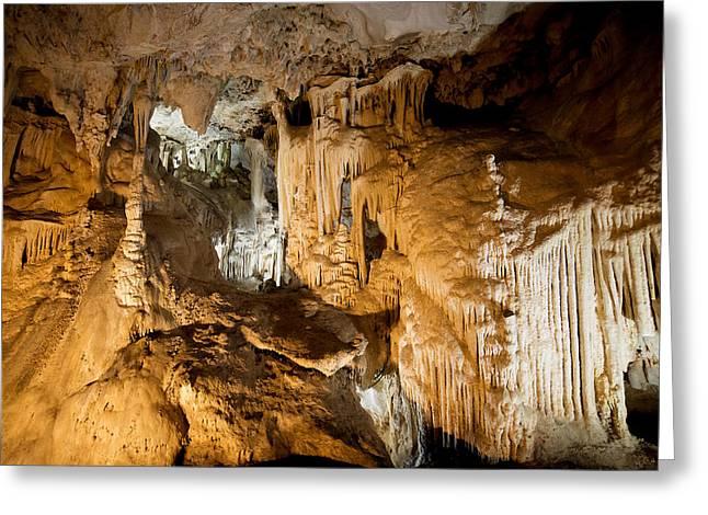 Nerja Caves In Spain Greeting Card by Artur Bogacki