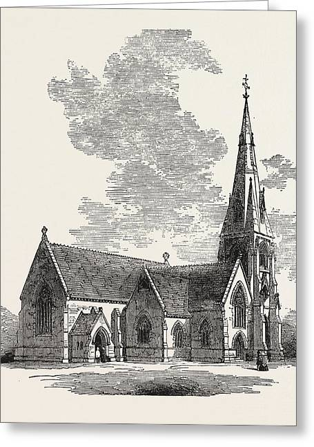 New Church Of St Greeting Card by English School