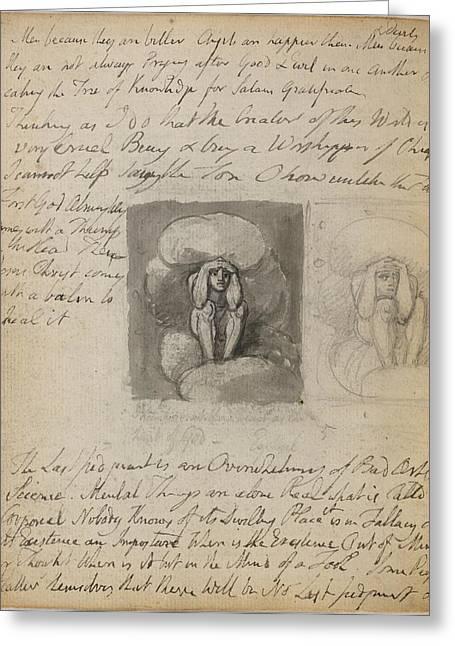 Notebook Of William Blake Greeting Card