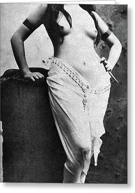 Nude Posing, 1920s Greeting Card by Granger
