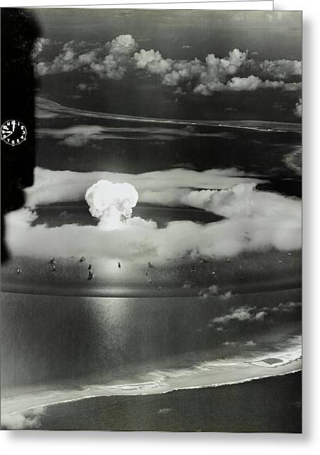 Operation Crossroads Atom Bomb Test Greeting Card