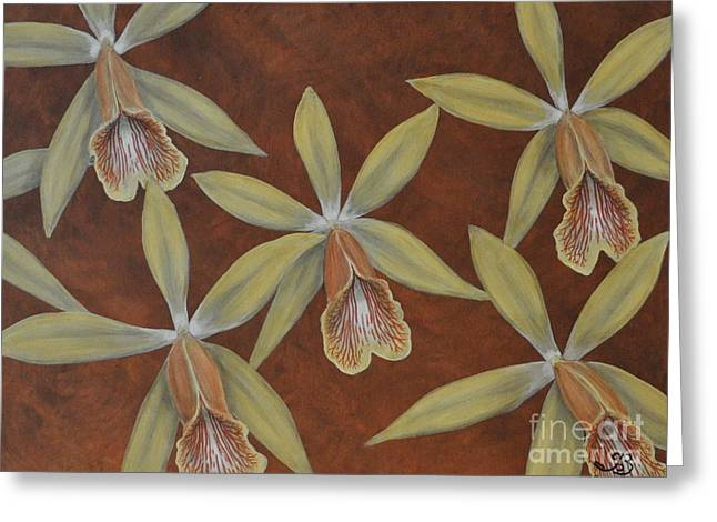 Orchid Greeting Card by J Barth