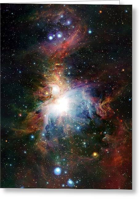 Orion Nebula Greeting Card by European Southern Observatory/science Photo Library