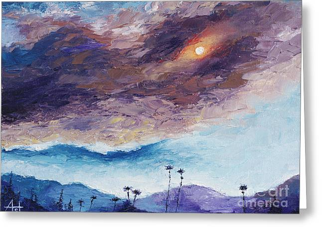 Palm Springs Summer Greeting Card