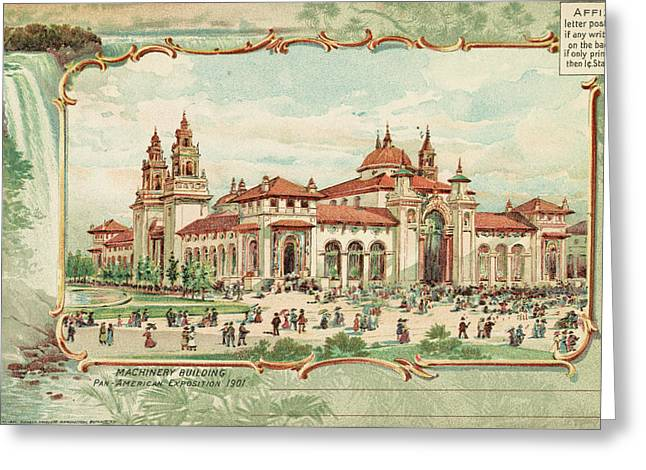 Pan-american Exposition Greeting Card by Granger