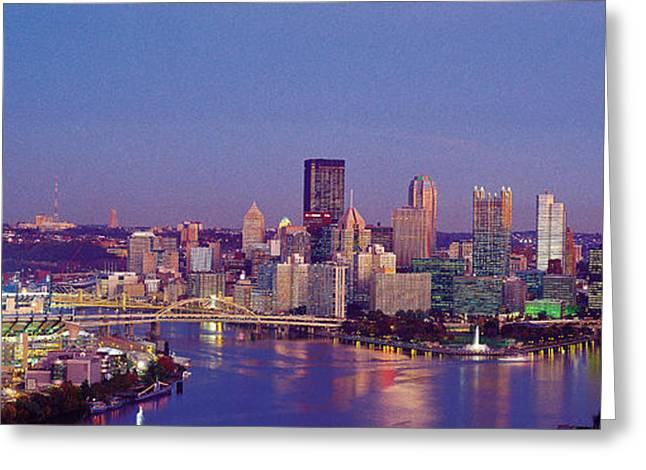 Pittsburgh, Pennsylvania, Usa Greeting Card