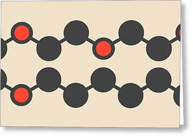 Polidocanol Sclerosant Drug Molecule Greeting Card