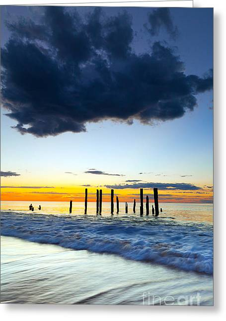 Port Willunga Sunset Greeting Card