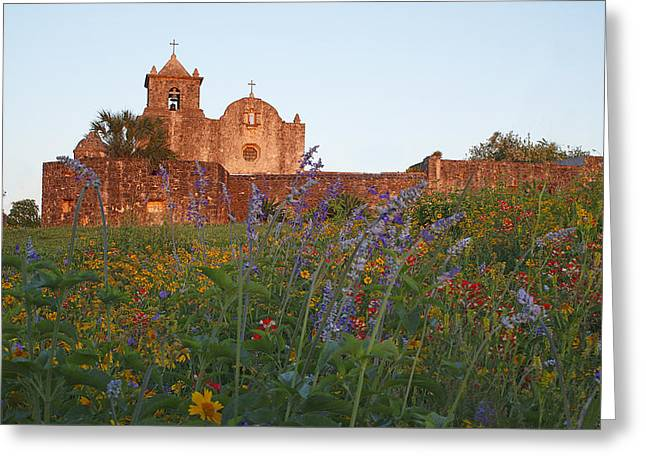 Greeting Card featuring the photograph Presidio La Bahia 2 by Susan Rovira