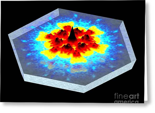 Quantum Waves In Topological Insulators Greeting Card by Dr. Ali Yazdani