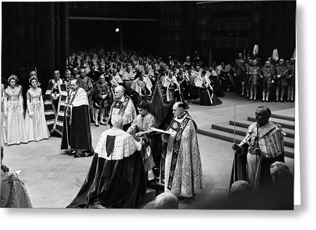 Queen Elizabeth II (1926- ) Greeting Card