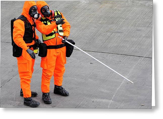 Radiation Emergency Response Training Greeting Card by Public Health England
