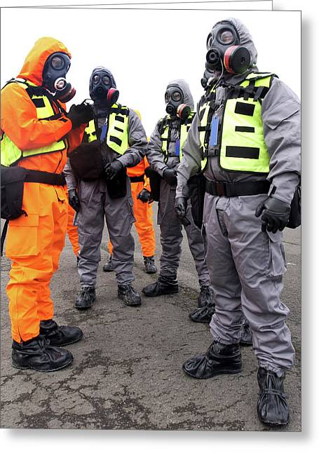 Radiation Emergency Response Workers Greeting Card by Public Health England