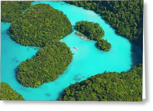 Rock Islands, Palau Greeting Card