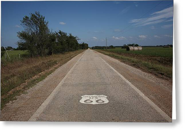 Route 66 - Oklahoma Greeting Card