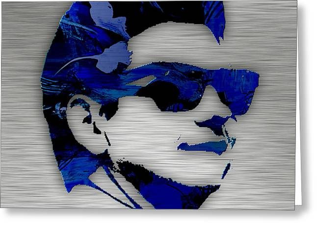 Roy Orbison Collection. Greeting Card by Marvin Blaine