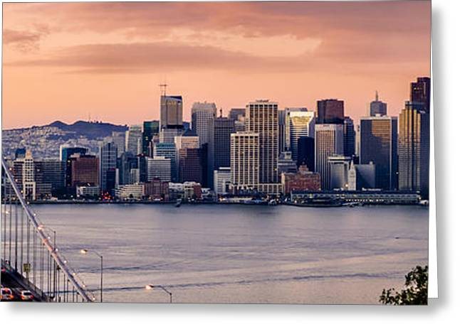 San Francisco Greeting Card by Radek Hofman