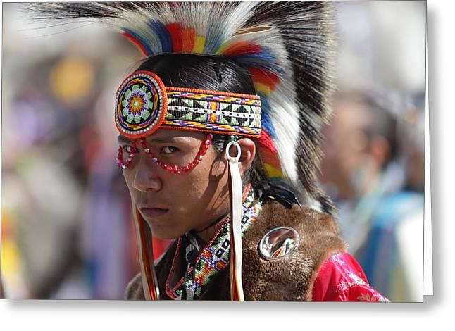 San Manuel Indians Pow Wow  Greeting Card
