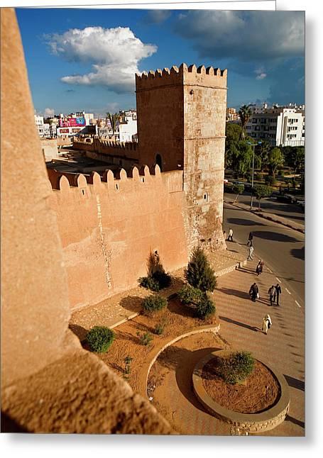 Sfax Greeting Card