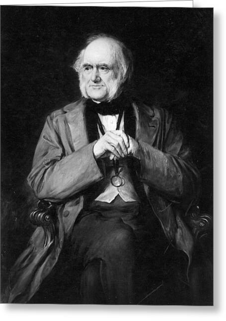 Sir Charles Lyell (1797-1875) Greeting Card by Granger