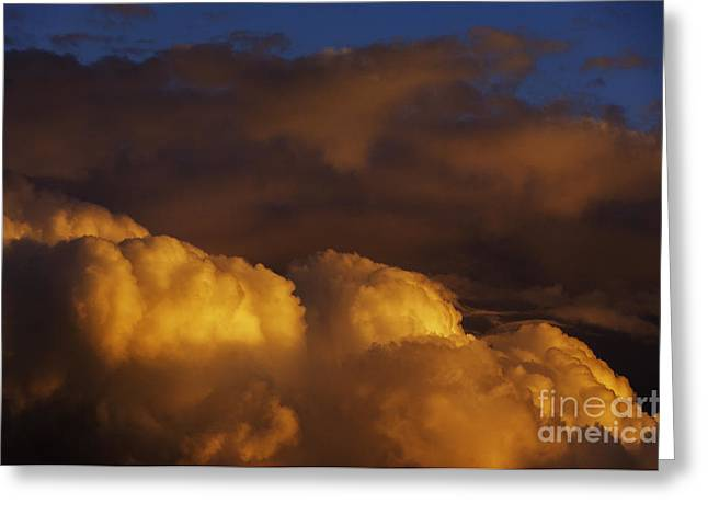 Sky Drama Greeting Card by Thomas R Fletcher