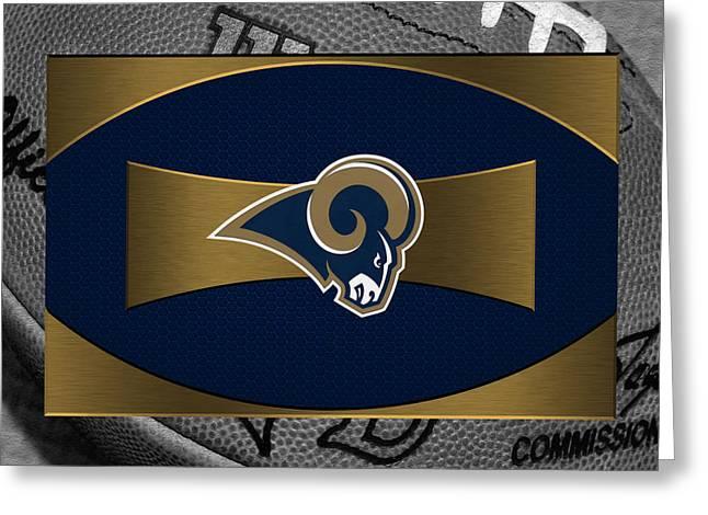 St Louis Rams Greeting Card