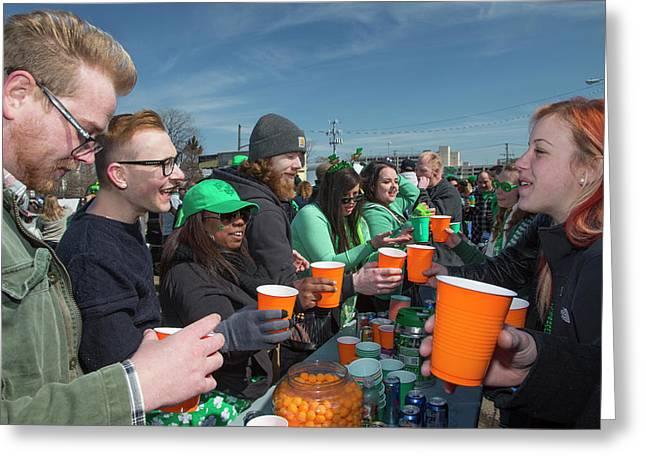 St. Patrick's Day Celebrations Greeting Card