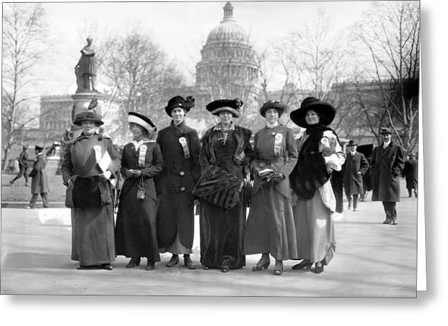 Suffragettes, 1913 Greeting Card by Granger