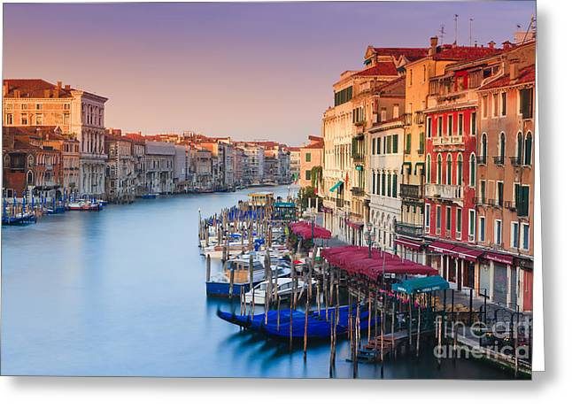 Sunrise In Venice Greeting Card