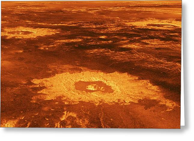 Surface Of Venus Greeting Card