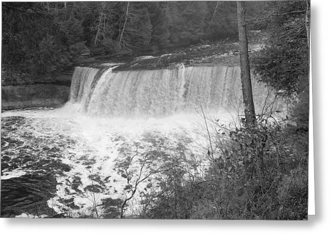 Tahquamenon Falls Greeting Card by Gary Marx