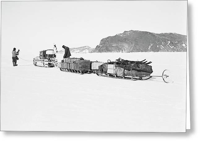 Terra Nova Antarctic Exploration Greeting Card