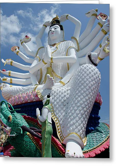Thailand, Ko Samui (aka Koh Samui Greeting Card by Cindy Miller Hopkins