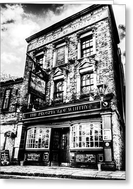 The Prospect Of Whitby Pub London Greeting Card by David Pyatt