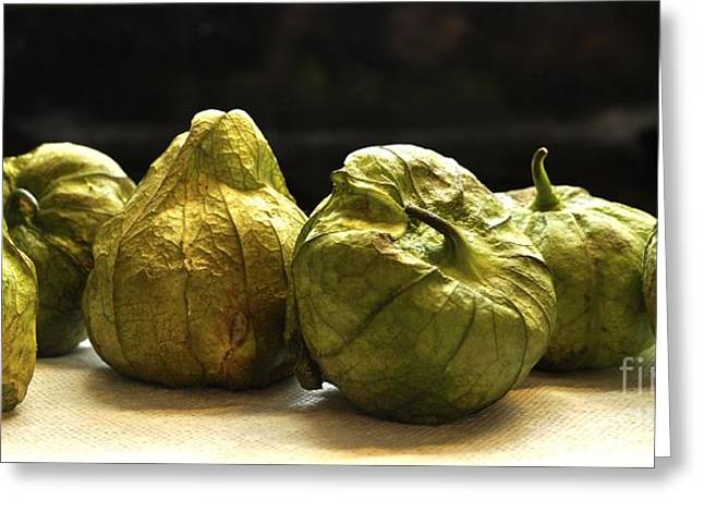 Tomatillos Greeting Card