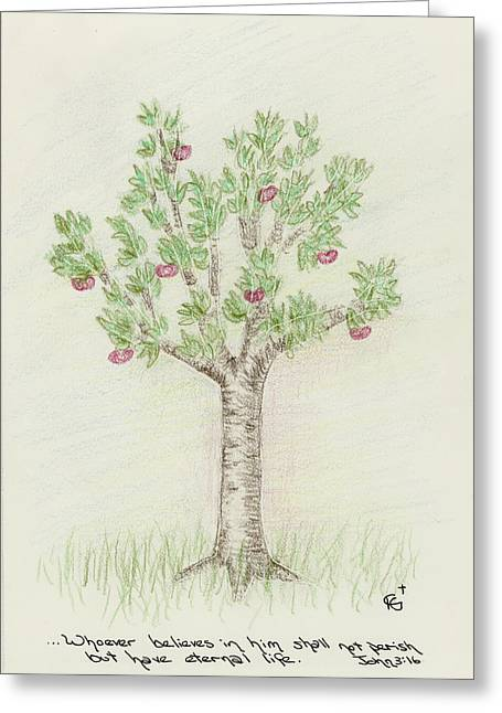 4 Trees-4th Tree Summer Greeting Card