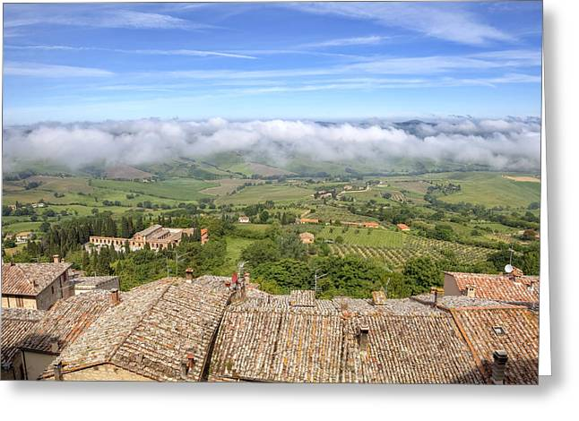 Tuscany - Montepulciano Greeting Card
