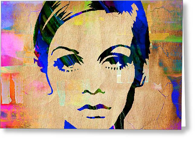 Twiggy Collection Greeting Card by Marvin Blaine