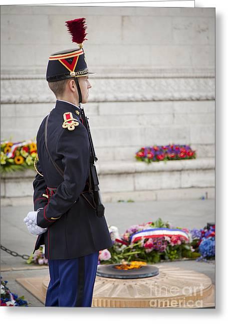 Unknown Soldier Greeting Card by Brian Jannsen