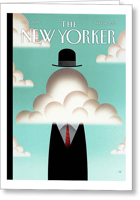 New Yorker May 14th, 2012 Greeting Card