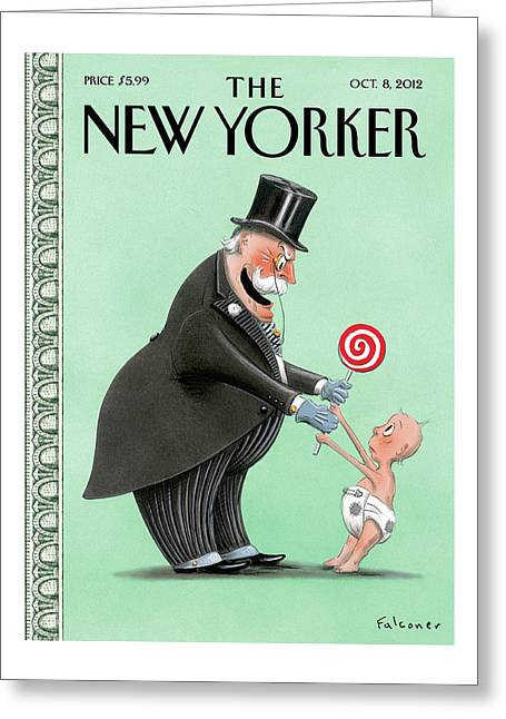 New Yorker October 8th, 2012 Greeting Card